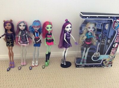Monster High Ghouls night out pack of 6 dolls