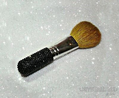 MADE TO ORDER Bling Crystallized Makeup Brushes  Made with Swarovski Crystals