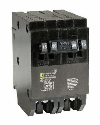 Homeline 2-15-Amp Single-Pole 1-30-Amp Two-Pole Quad Circuit Breaker Supplies