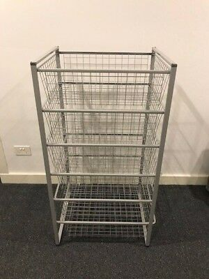 wire basket drawers from Ikea