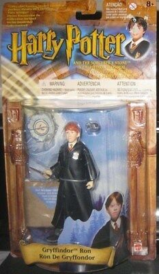 Harry Potter - Gryffindor Ron **mint On Card** Dated 2001