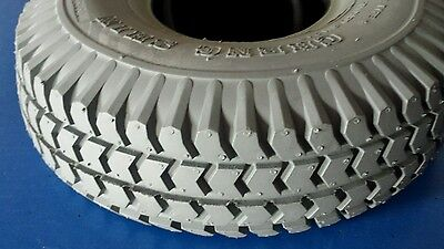 Pair of Mobility scooter tyre + tube  4.00-6  NEW (2 tyres with tubes)