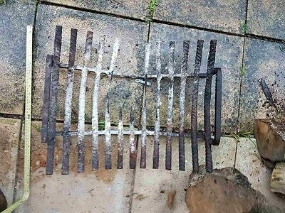 Open Fireplace Grate Needs Repair