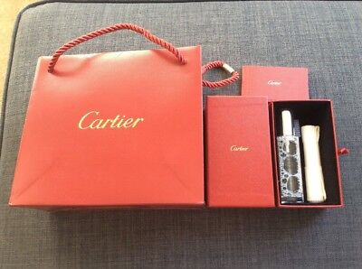 Authentic Cartier Jewelry and Watch Cleaning Set + Cartier Bag