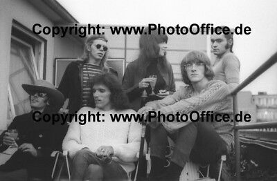 Jefferson Airplane Hamburg 1968 rare 12 x 18 photo poster, photograph, negative