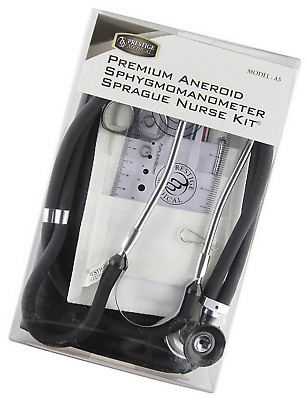 NCD Medical Black Aneroid/Sprague Nurse Kit