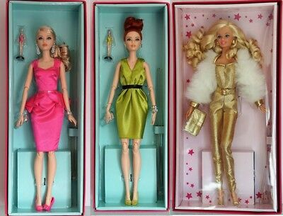 #06 BARBIE-Puppe- MATTEL-Gold Label Collection-Aussuchen: DGX88, DWF65, DWF66