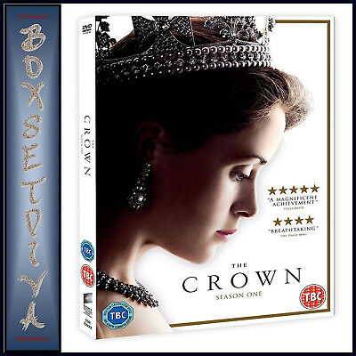 The Crown - Complete Season 1 - First Season  **brand New Dvd**