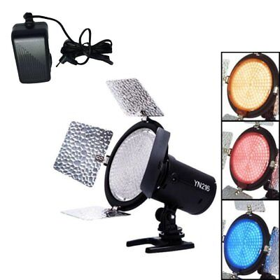 Yongnuo YN216 Pro LED Studio Video Light Camcorder for Canon Nikon Sony Power US