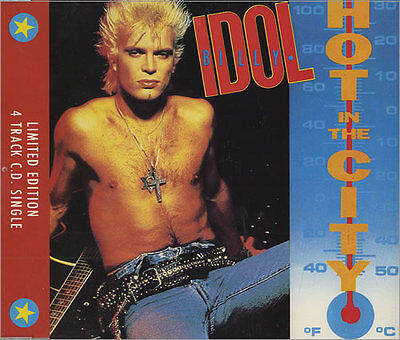 Billy Idol, Hot In The City, NEW/MINT Ltd edition UK 4 track CD single