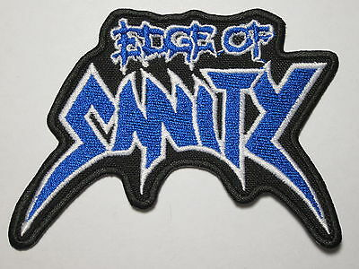 EDGE OF SANITY logo embroidered NEW patch death metal