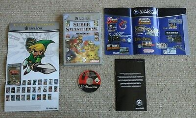 Super Smash Bros Melee Nintendo GameCube Game PAL