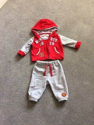 0-3 Months Manchester United Track Suit