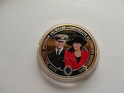 Prince William and Catherine Commemorative Coin  {coin B}    {REDUCED}