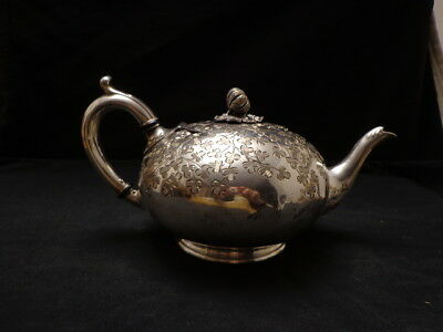 Antique 1910's Sterling Silver Teapot