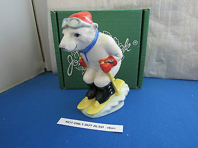 BESWICK SLOPING OFF SC 4 SKIING POLAR BEAR  SPORTING CHARACTERS LIMITED mib