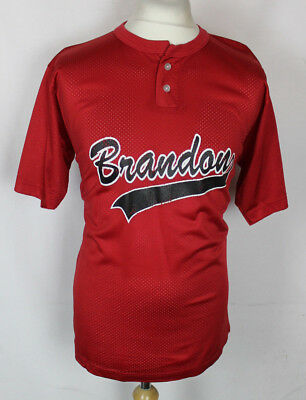 #18 Vintage Brandon Baseball Jersey Shirt Mens Large Gator