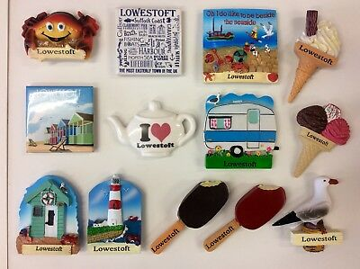 Lowestoft Souvenir Fridge Magnet - You Choose Design