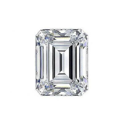 2.5ct VVS1-G Emerald Cut Moissanite 9x7mm Emerald Cut Loose Sparkling Moissanite