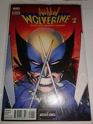 All New Wolverine #1 1st Print All New Marvel 2015--LOWEST $$ EBAY ☝☝FREE SHIP!!