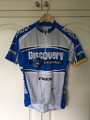 Nike Discovery Channel Cycling Jersey SIze Medium