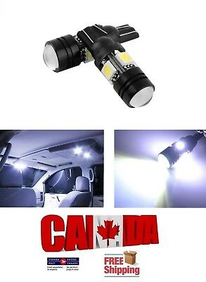 2X T10 194 168 White 5W 5050 4SMD Cree Lens Projector COB LED Car Light Bulb