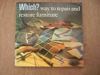 Book.  Which? Way To Repair and Restore Furniture