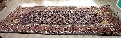 Antique Early 20th Century Oriental Hand Woven Carpet