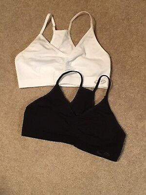 Girls Champion Lot Of 2 Athletic Bras Size Large