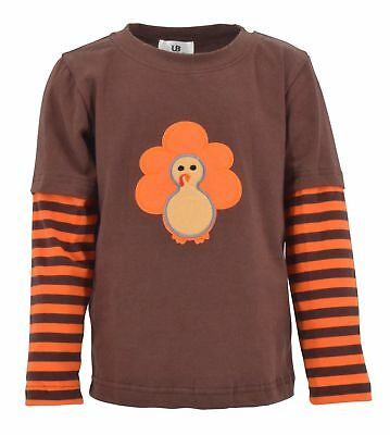 Unisex Thanksgiving Turkey Shirt Girls Boys Baby Kids Clothes Outfit months year