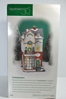 Department Dept 56 Christmas In The City The Wedding Gallery 58943 RETIRED