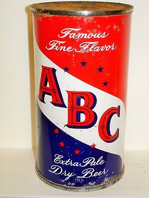 "ABC EXTRA PALE ""MAIER BREWING"" Flat Top Beer Can M817"