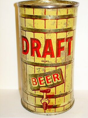"DRAFT BRAND BEER ""MAIER BREWING"" Flat Top Beer Can M824"