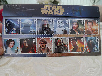 Star Wars Royal Mail Stamp Collection