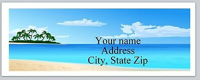 Personalized address labels BEACH Buy 3 get 1 free (xac 792)
