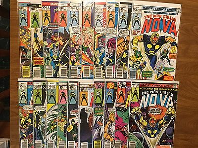The Man Called Nova 3-25 Not Complete 1976 New Warriors Guardians Of the Galaxy