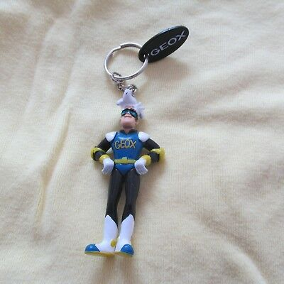 Geox Keychain With Pvc Figure Toy Shoes Rare Promo