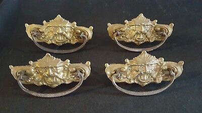 Lot 4 Antique Drawer Pulls