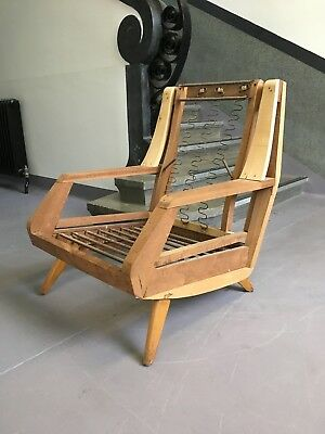 Vintage Retro Midcentury 1950's G Plan? Armchair Upholstery Project