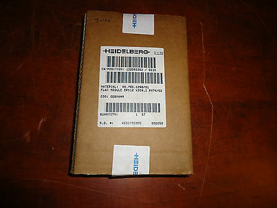 Heidelberg Press, Epm12 V309.1 Pm74/52, Flat Module, Part#00.785.1299/01, Sealed