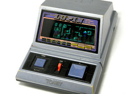 80s Retro TOMY FL LSI Tabltetop Game Lupin Made in Japan Great Condition_07