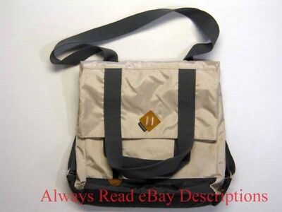 """COLUMBIA CONVERTIBLE BACKPACK TOTE MOD BAG-Gray Magnetic Laptop Sleeve 20x16x3"""""""