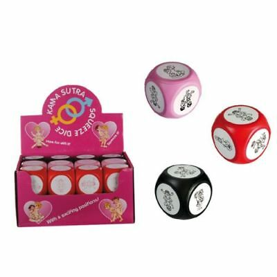 48 X  DICES KAMA SUTRA LOVE DICE! Kamasutra Dices Saucy Romantic Adult FUN GIFT