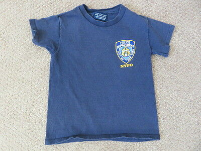 Toddler T Shirt - City of New York Police Department - Size 4 Toddler - Navy
