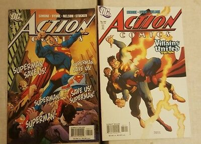 Superman Action Comics 830 & 831