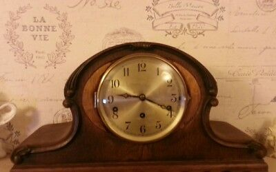 Large Art Deco Westmister Chimes Mantle Clock
