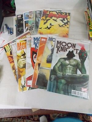 MOON KNIGHT lot of 14-2009, 2010, 2011, 1990, 1999, 2008, 1998- several # 1s NM