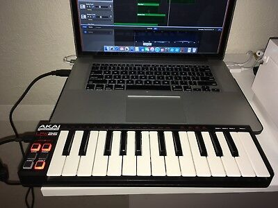 how to connect a akai mk2 to a laptop