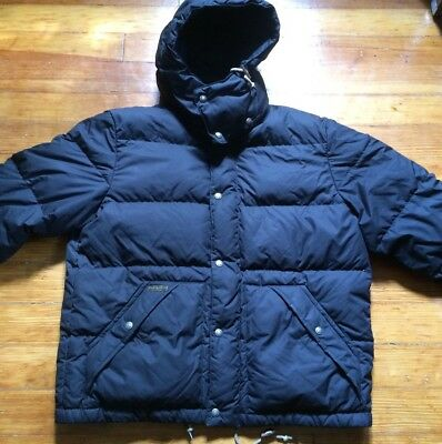 Polo by Ralph Lauren Mens Black Puffer Winter Jacket  Size Large
