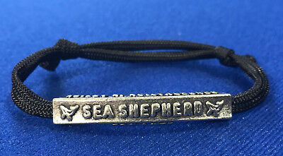 New to eBay Sea Shepherd bead bracelet, Metal